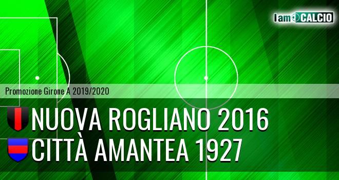 Nuova Rogliano 2016 - Città Amantea
