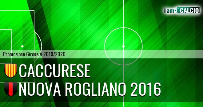 Caccurese - Nuova Rogliano 2016