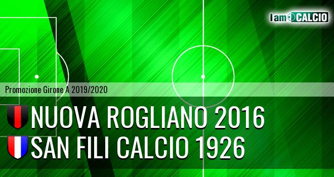 Nuova Rogliano 2016 - San Fili Calcio 1926