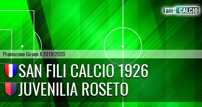 San Fili Calcio 1926 - Juvenilia Roseto