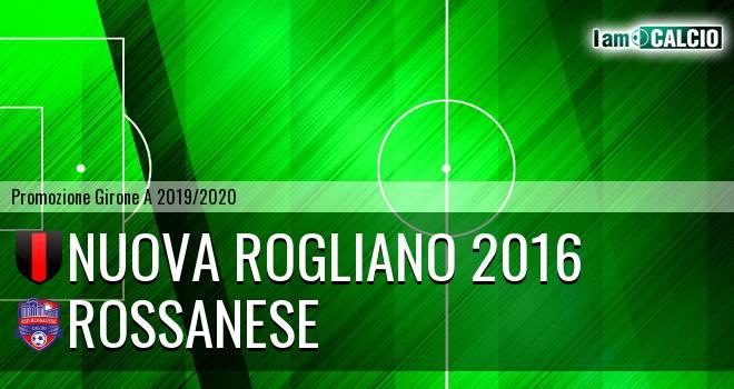 Nuova Rogliano 2016 - Rossanese