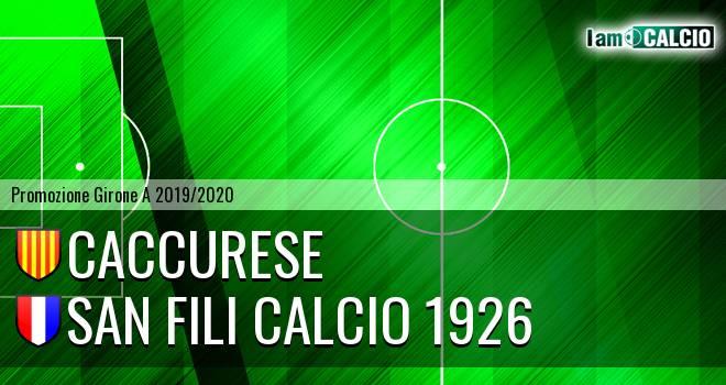 Caccurese - San Fili Calcio 1926