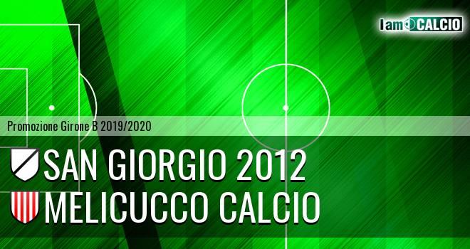 San Giorgio 2012 - Melicucco Calcio