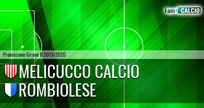Melicucco Calcio - Rombiolese