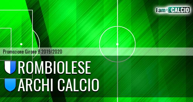 Rombiolese - Archi Calcio