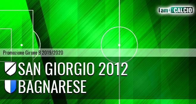 San Giorgio 2012 - Bagnarese