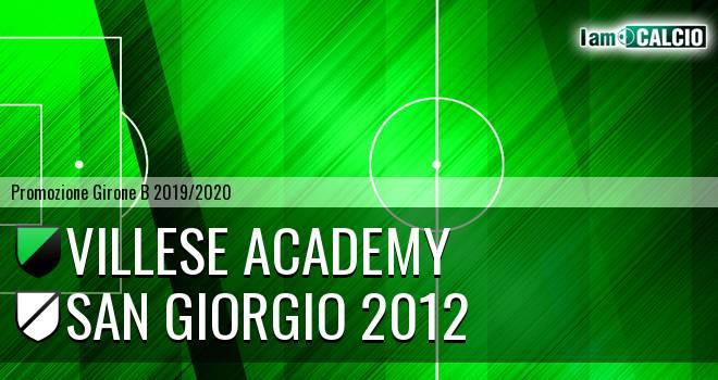 Villese Academy - San Giorgio 2012