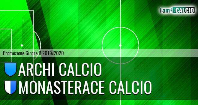 Archi Calcio - Monasterace Calcio