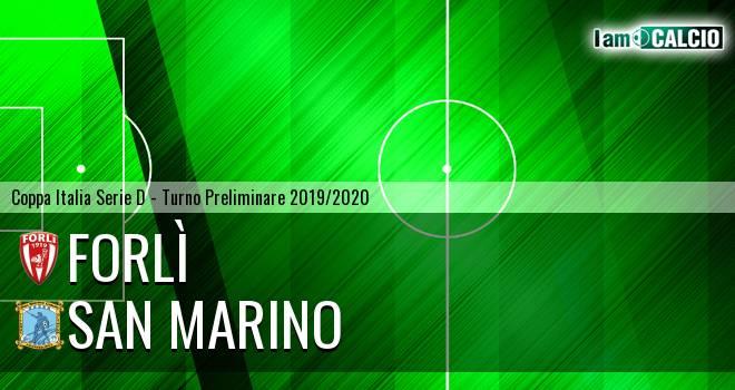 Forlì - San Marino