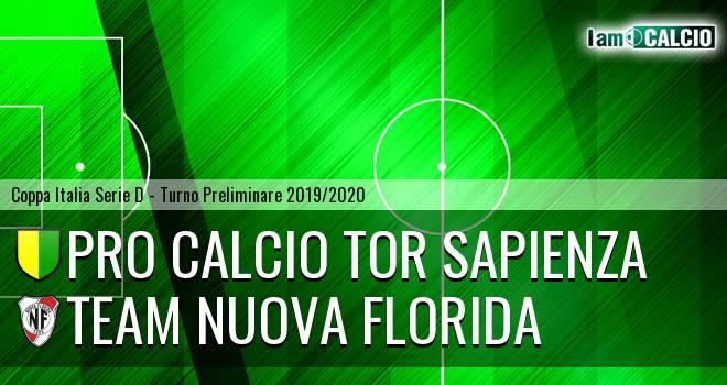 Pro Calcio Tor Sapienza - Team Nuova Florida
