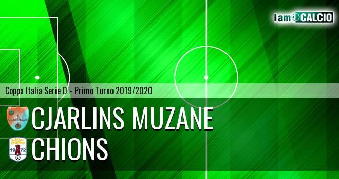 Cjarlins Muzane - Chions