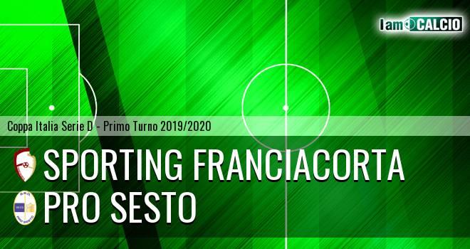 Sporting Franciacorta - Pro Sesto
