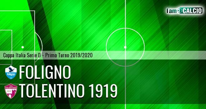 Foligno - Tolentino 1919