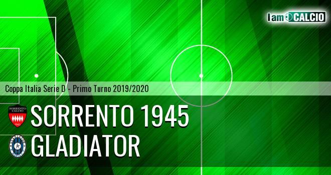 Sorrento 1945 - Gladiator