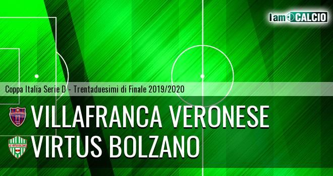 Villafranca Veronese - Virtus Bolzano