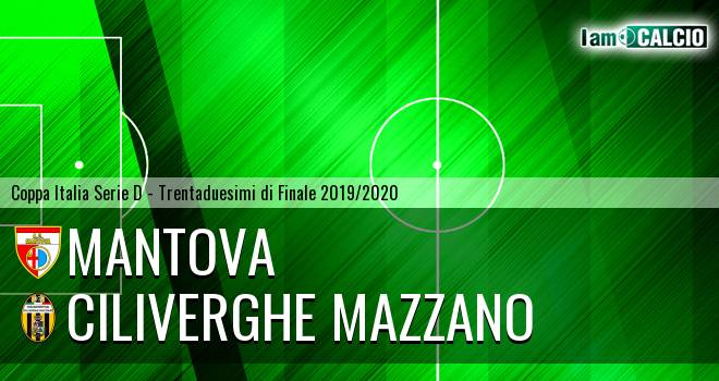 Mantova - Ciliverghe Mazzano