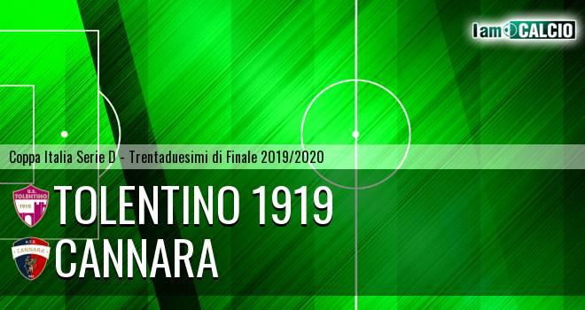 Tolentino 1919 - Cannara