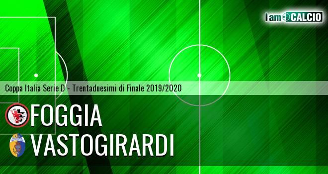 Foggia - Vastogirardi 3-1. Cronaca Diretta 25/09/2019