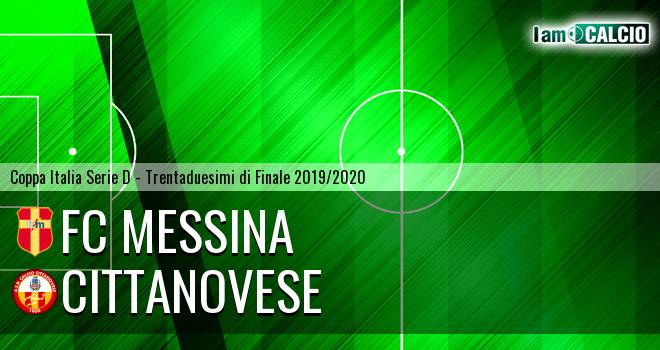 FC Messina - Cittanovese
