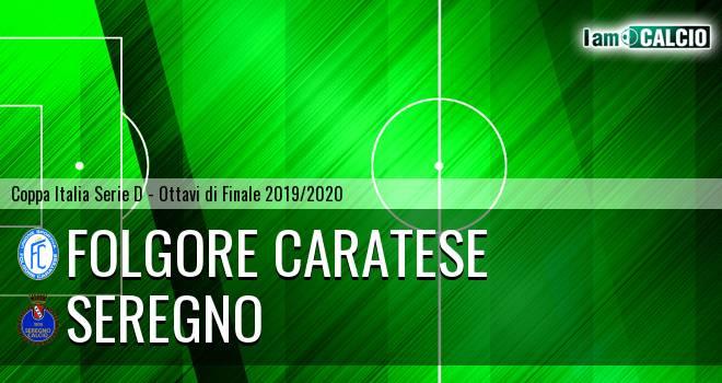 Folgore Caratese - Seregno