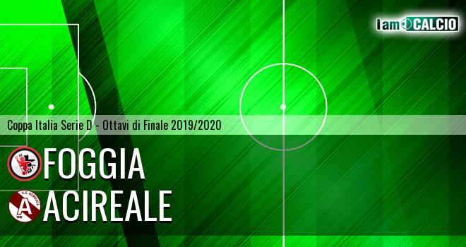 Foggia - Acireale 3-0. Cronaca Diretta 13/11/2019