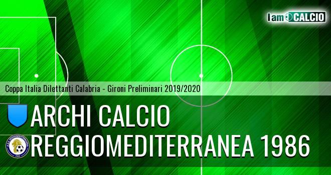 Archi Calcio - Reggiomediterranea 1986