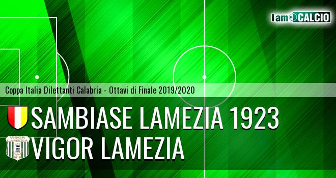 Sambiase Lamezia 1923 - Vigor Lamezia