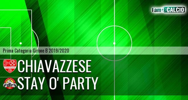 Chiavazzese - Stay O' Party