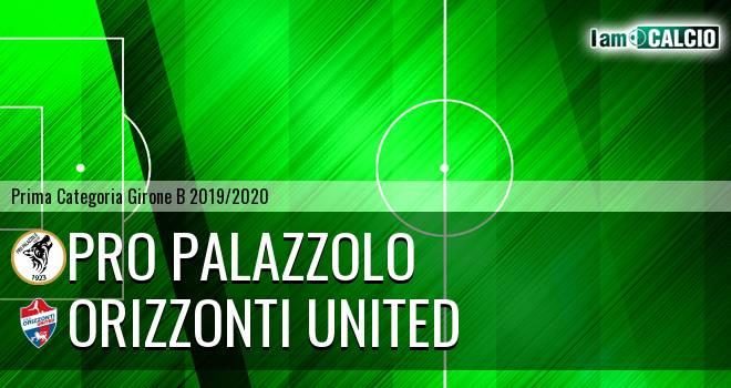Pro Palazzolo - Orizzonti United