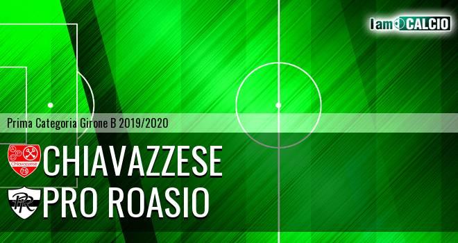 Chiavazzese - Pro Roasio