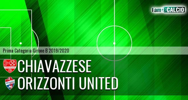 Chiavazzese - Orizzonti United