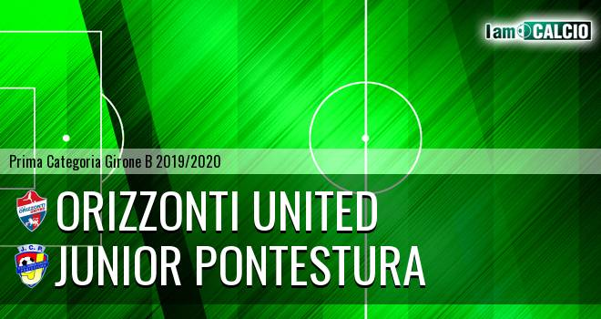 Orizzonti United - Junior Pontestura