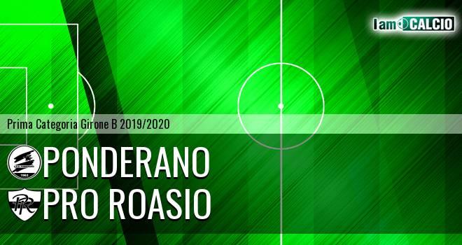 Ponderano - Pro Roasio