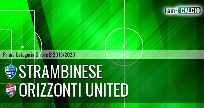 Strambinese - Orizzonti United