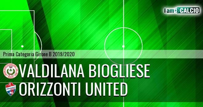 Valdilana Biogliese - Orizzonti United