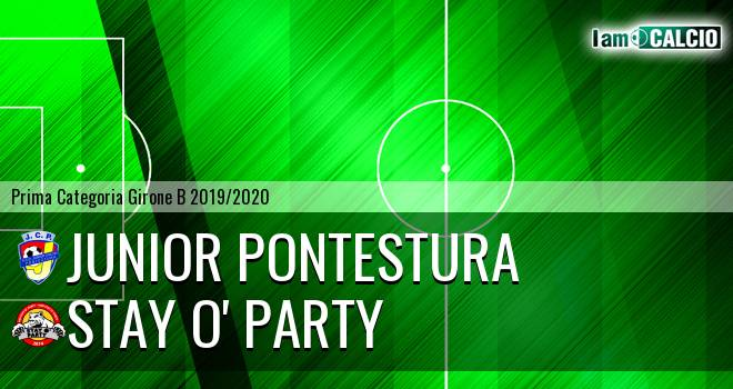 Junior Pontestura - Stay O' Party