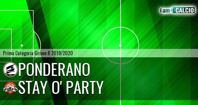 Ponderano - Stay O' Party