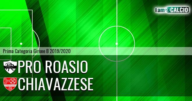 Pro Roasio - Chiavazzese