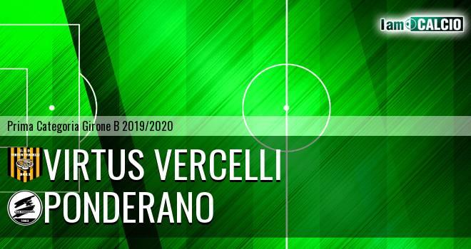 Virtus Vercelli - Ponderano