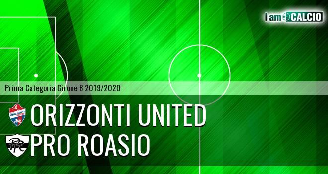 Orizzonti United - Pro Roasio