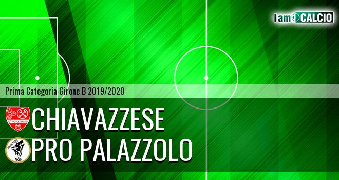 Chiavazzese - Pro Palazzolo