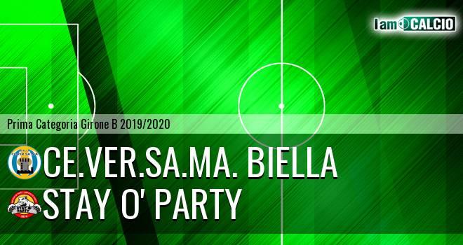 Ce.Ver.Sa.Ma. Biella - Stay O' Party