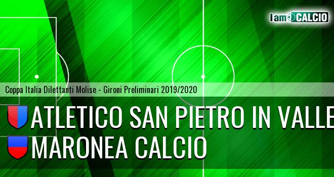 Atletico San Pietro in Valle - Maronea Calcio