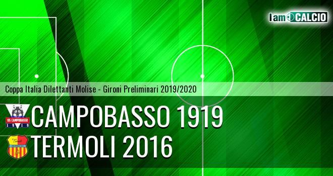Campobasso 1919 - Termoli 2016