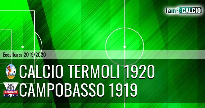 Calcio Termoli 1920 - Campobasso 1919