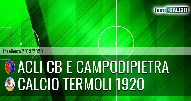 Acli Cb e Campodipietra - Calcio Termoli 1920