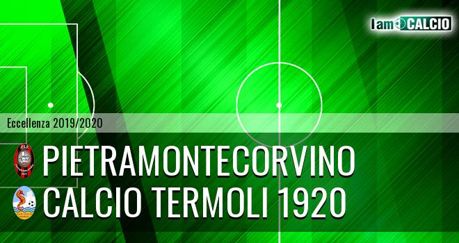 Pietramontecorvino - Calcio Termoli 1920