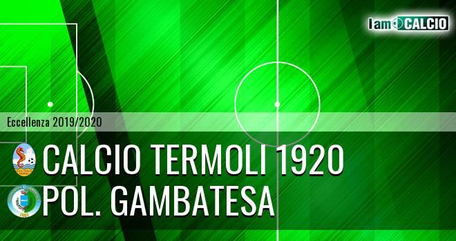 Calcio Termoli 1920 - Pol. Gambatesa
