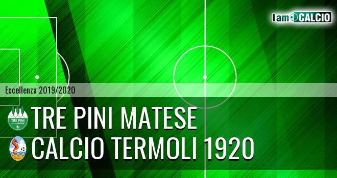 Tre Pini Matese - Calcio Termoli 1920