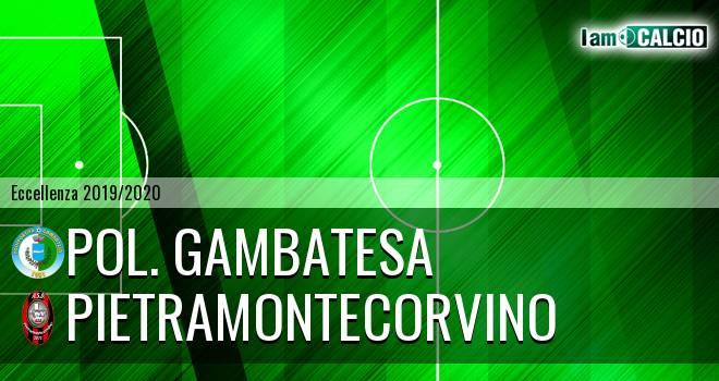 Pol. Gambatesa - Pietramontecorvino